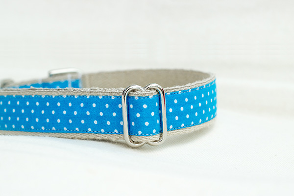 Hemp Dog Collars Metal Buckle